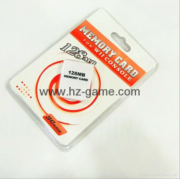 For Nintendo WII Console WII Memory Card 16MB 251mb Blocks Game Memory Card  5