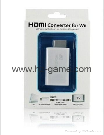 厂家直销热销WII转HDMI高清转换器WII2HDMI1080PWIITOHDMI 3