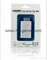 Wii2HDMI Adapter 3.5mm Audio Wii toHDMI Adapter Converter Support Full 3