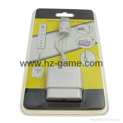 Wii2HDMI Adapter 3.5mm Audio Wii toHDMI Adapter Converter Support Full 14