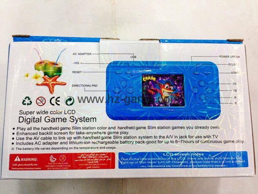 HOT NES game machine NES22 inch children handheld GBANESPVPSPFC classic 10