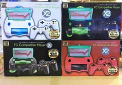 FCX2游戏机双人对打经典彩屏游戏机迷你NESMINI电视游戏机