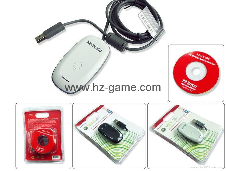 XBOX360無線手柄接收器原裝芯片PC接收器中性無線PC接收器 5