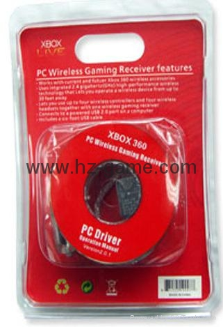 XBOX360无线手柄接收器原装芯片PC接收器中性无线PC接收器 7