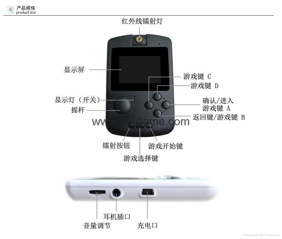 廠家直銷PMPV22寸經典遊戲機世嘉FC經典遊戲機NESPVPPXP3 6