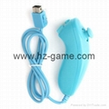 New NunchukGame Controller remote Game Handle for Nintendo Wii 2
