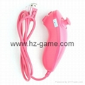 New NunchukGame Controller remote Game Handle for Nintendo Wii