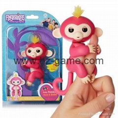 Fingerlings Monkey Smart Fingersllings Induction kids pet toys for children (Hot Product - 1*)
