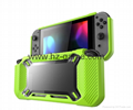 new design Slim Rubberized Hard Case Cover for Nintendo Switch Green