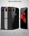 iPhone X Luxury Fashion Transparent TPU
