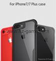 Iphone 8 plus case Luxury silicone frame
