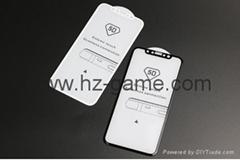 iPhone 8 5D弧形屏幕保护膜iPhone 8/7/ 6 Plus 8 Plus全覆盖膜钢化玻璃膜