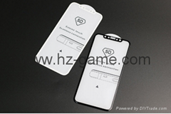 iPhone 8 5D弧形屏幕保護膜iPhone 8/7/ 6 Plus 8 Plus全覆蓋膜鋼化玻璃膜