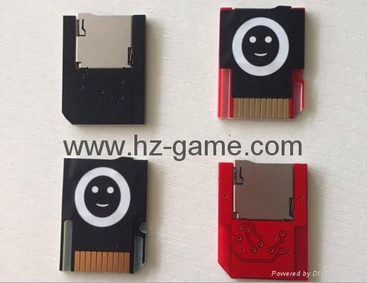 PSV3.0遊戲卡套 記憶卡轉接器 PSV2000 SD2Vita PLUS 可彈取TF卡 7