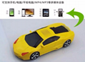Christmas gift Mini Bus Speakers Car FM Radio Support TF / Mp3 player 6
