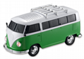 Christmas gift Mini Bus Speakers Car FM Radio Support TF / Mp3 player 2