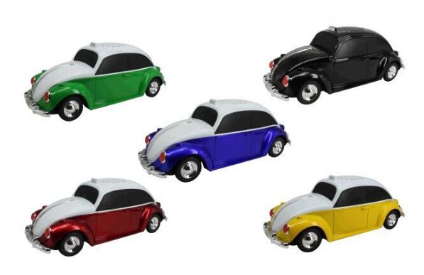 Factory outlets classic car model card speakers mini radio gift speakers 1