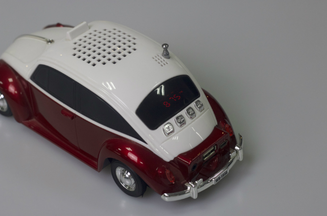 Factory outlets classic car model card speakers mini radio gift speakers 19