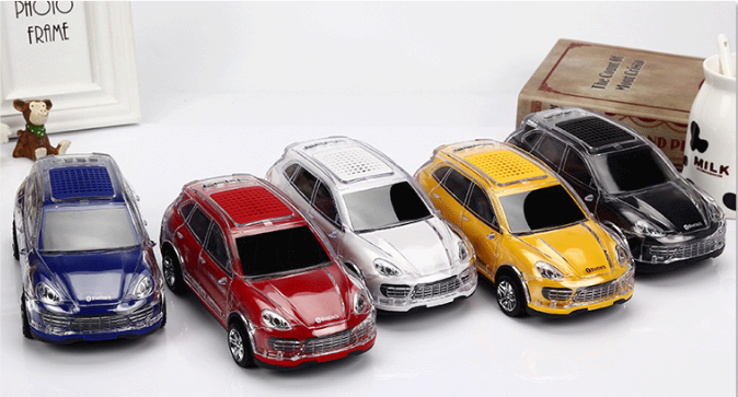 Factory outlets classic car model card speakers mini radio gift speakers 5