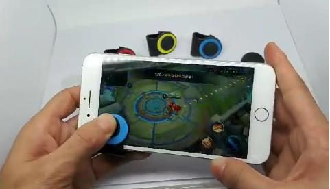 荣耀手机游戏手柄 夹子款   荣耀游戏摇杆走位神器joystic 2