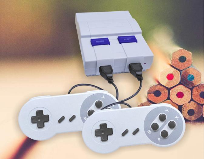 新款任天堂SUPER NES遊戲主機 8位SNES MINI遊戲機400款出貨中 1