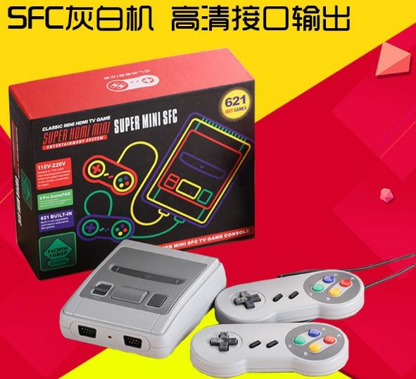 SNES美版迷你游戏机 SUPER NES HDMI高清红白机双人内置621款游戏 1