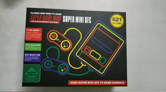 SNES美版迷你遊戲機 SUPER NES HDMI高清紅白機雙人內置621款遊戲 6