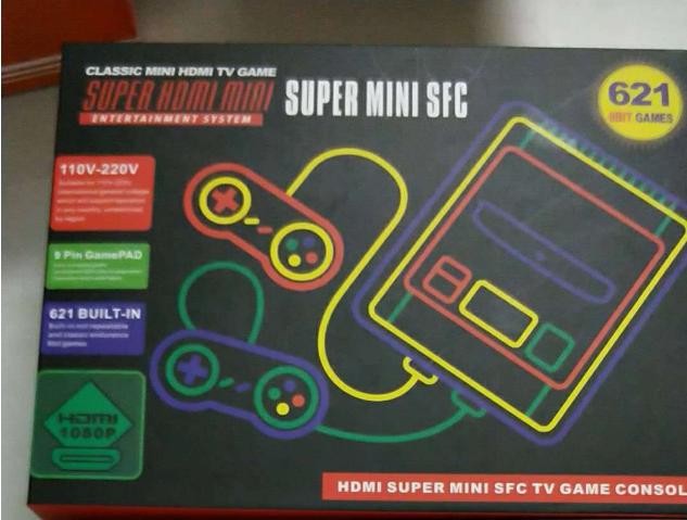 SNES美版迷你遊戲機 SUPER NES HDMI高清紅白機雙人內置621款遊戲 11