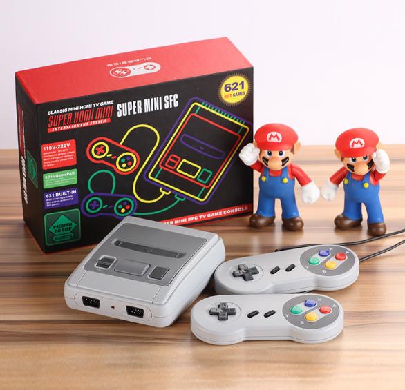 SNES美版迷你遊戲機 SUPER NES HDMI高清紅白機雙人內置621款遊戲 13