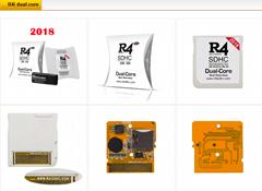 2018 R4i dual-core R4I3D燒綠卡,R4iGOLD,R4ISDHC蘋果派燒錄卡