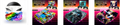 NEW3DSLL新大三彩貼 手柄貼紙高端pvc貼紙 遊戲機保護膜 7