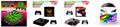 NEW3DSLL新大三彩貼 手柄貼紙高端pvc貼紙 遊戲機保護膜 8