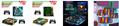 NEW3DSLL新大三彩貼 手柄貼紙高端pvc貼紙 遊戲機保護膜 9