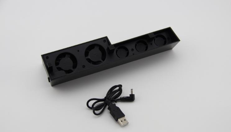新款ps4pro散熱座帶HUB風扇(飛船外型)PS4 PRO風扇底座支架 5