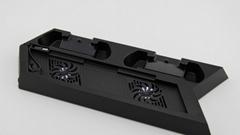 新款ps4pro散熱座帶HUB風扇(飛船外型)PS4 PRO風扇底座支架