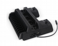 新款ps4pro散热座带HUB风扇(飞船外型)PS4 PRO风扇底座支架 11
