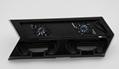 新款ps4pro散熱座帶HUB風扇(飛船外型)PS4 PRO風扇底座支架 14