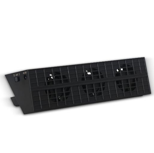 新款ps4pro散熱座帶HUB風扇(飛船外型)PS4 PRO風扇底座支架 15