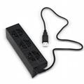 New ps4pro heat sink with HUB fan PS4 PRO fan base bracket 17