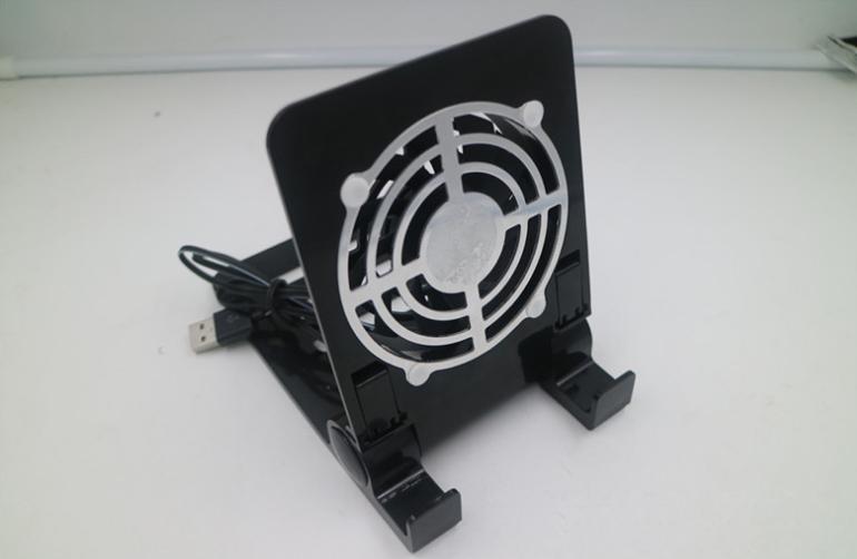 新款ps4pro散熱座帶HUB風扇(飛船外型)PS4 PRO風扇底座支架 6