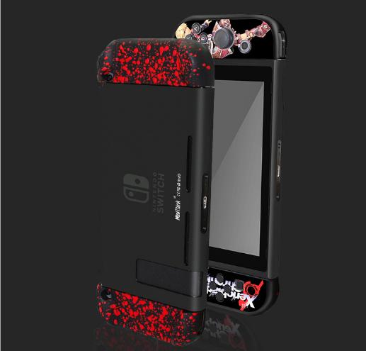 任天堂switch保护套透明水晶壳 NS手柄套分体主机外壳硬 NS配件 7