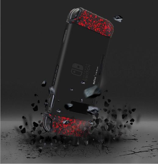 任天堂switch保护套透明水晶壳 NS手柄套分体主机外壳硬 NS配件 10