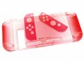 任天堂switch保护套透明水晶壳 NS手柄套分体主机外壳硬 NS配件 6