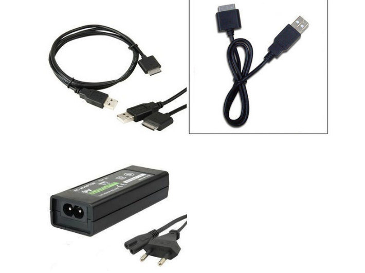 USB Charger Power Supply for Sony PlayStation Portable PSPGo Charging Cable 8
