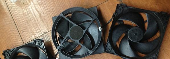 PS4内置风扇 散热风扇 PS4主机散热器 1000型 1100型 KSB0912HE 17