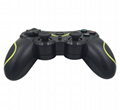 PS3 wireless 2.4G game controller PC P3dual vibration handle with receiver 6
