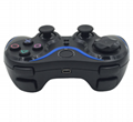 PS3 wireless 2.4G game controller PC P3dual vibration handle with receiver 9