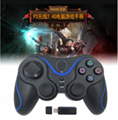 PS3 wireless 2.4G game controller PC P3dual vibration handle with receiver 15
