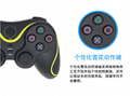 PS3 wireless 2.4G game controller PC P3dual vibration handle with receiver 17