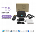 NewT98 Android 7.1 USB3.0 RK3328 1G8G Quad Core 4K Android Network TV BOX